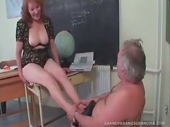 Oh the joys of adult education!  Mature student Richard hasn\'t been...