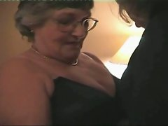 This sexy over 60 granny is lost and she asks a local fisherman to...