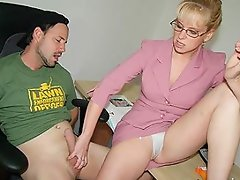 Ricky cant help but jerk his cock while looking at sexy photos of his...