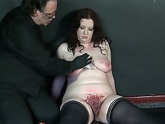 Magick do severe candle and needle playing on Nimue's slave Rosie....