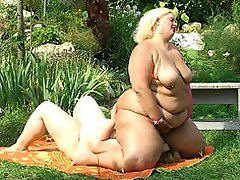Amanda and Sue Ann are chunky older women going at it in this steamy...
