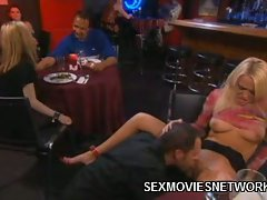 Holly Wellin is such a show off. She and her lover where out on a...