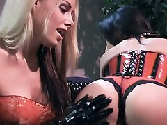Hot ladies Nicole Sheridan and Alaura Eden get dirty in this steamy...