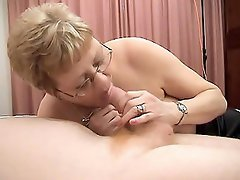 Kay is one filthy grandma that craves for a cock and she will stop at...
