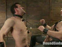 Jason Miller receives CBT on the new CBT box by the new house dom,...