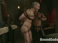 Adam Russo gets tied up for the first time and worships CJ Madison's...
