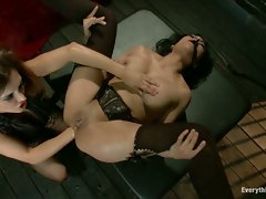 First Time Anal Fisting and Rough Sex for Submissive Slut!...