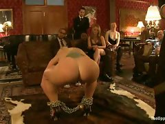 House slaves service the Upper Floor Masters and Mistresses...