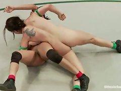 SUMMER VENGEANCE TOURNAMENT: Wrestler ranked 13 gets her ass kicked...