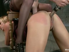 Princess Donna ties up a sexy Milf and has her way with her....