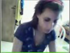 arab girl showing on cam