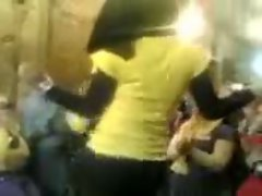 Arab Hijabi Whore Dancing 4