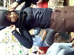Arab Hijabi Whore Dancing 5