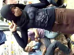 Arab Hijabi Whore Dancing 5