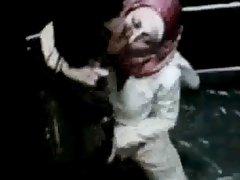 arab bitch in elevator