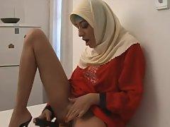 ARAB Muslim HIJAB Turbanli  Girl 1 - NV