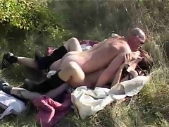 Beurette danny french arab morrocan fucked in outdoor