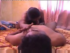 Indian couple honeymoon