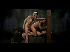 top shemale dominates 2 guys real rough... enjoy