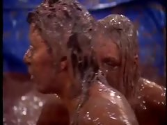 Big Brother NL  Hot Girls Chocolate Custard wrestling pt 1