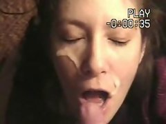 American Wife likes to get facial