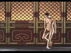 Tang Jia Li nude dance