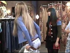 Blake Lively &, America Ferrara Flashing Panties