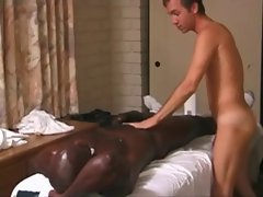 Ardent Gay massage with a Huge BBC by TROC