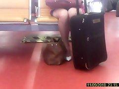Mini jupe rose culotte blanche rapide