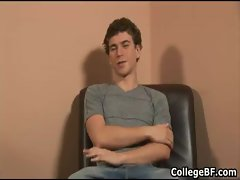 Alexander Green jerking his fine college gay porn