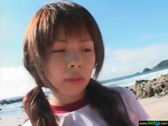Hot Asian Girl Get Hard Bang In Wild Place vid-06