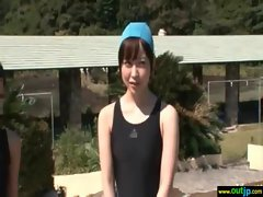 Hot Asian Girl Get Hard Bang In Wild Place vid-31