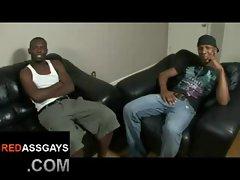 Ebony ghetto thugs fucking like Stallions