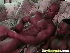Ebony Gays Lustful Fuck