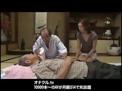 Japanese Naughty Wife taboo sex fucking cute Bukkake Blowjobs creampie