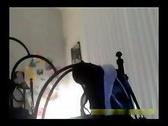 Spycam a mi hermana 2 (en la noche)