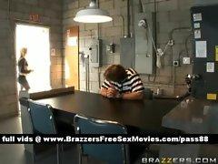 Two amazing sluts talk to a prisoner