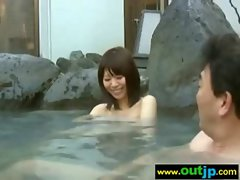 Asians Girls Get Banged In Wild Places video-28