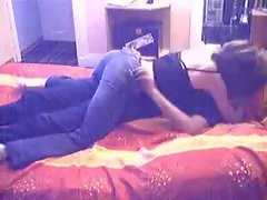 Hot amateur lovers make out