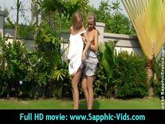 Sexy Young Lesbian Babes Enjoy Oral Sex - Sapphic Erotica 01