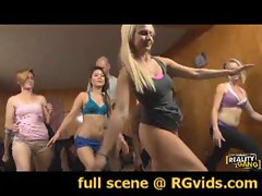 RGvids.con presents: Jodi, Bliss, Destiny and Ana Get Stretched Out!