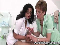 Busty nurses tit jobs