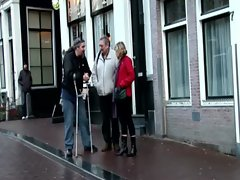 Dutch tourist threesome