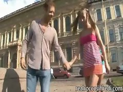 Naughty teen girls destroyed by Rocco on different scenes