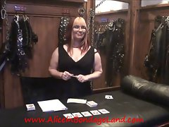 You Bet Your Prick Chastity Card Game FemDom Mistress Point of view