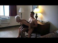 90 Yr. Experienced Granny Banged In A Hotel