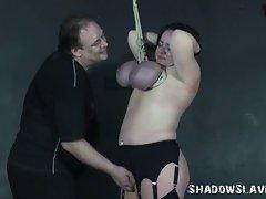 Andreas Experienced Breast Bondage Suspension