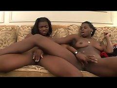 Lustful ebony Lezzy FEVER