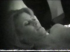 Sensual filthy bitch window spy after sex