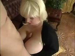Cute bbw Light-haired Gets Banged